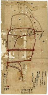寛延二(1749)年 下新倉村絵図