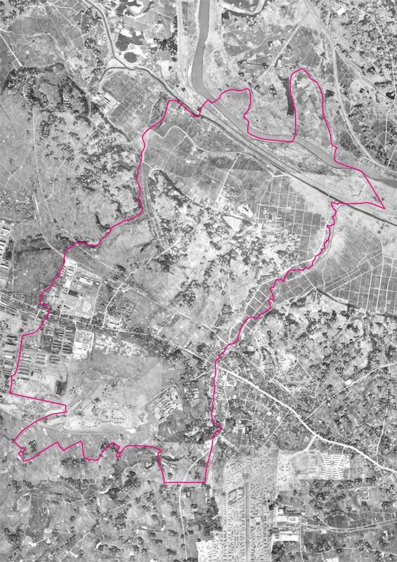 昭和22年 米軍撮影空中写真