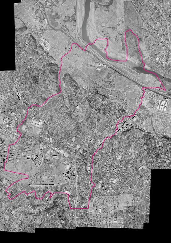 昭和45年 空中写真