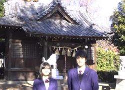 諏訪神社と白子囃子奉納